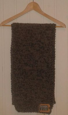 Bufanda jaspeada gris y azul marino de Bufandas With Style