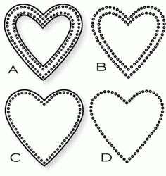 Papertrey Ink - Limitless Layers: Heart Stitches Die Collection (set of 4) (?)