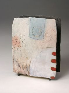 Ceramics by Craig Underhill at Studiopottery.co.uk - 2012. Over the wall, 27cm high