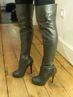 Topshop Barley 2 thigh boots