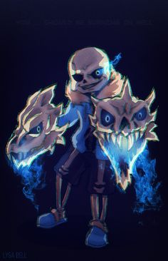 sans and gaster blasters