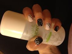 Gellux black & white with dots