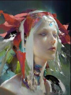 Fantasy painting - Ruan Jia