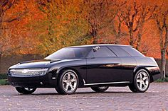 1999 Chevy Nomad concept car. THEY SHOULD HAVE MADE A PRODUCTION ONE!!!