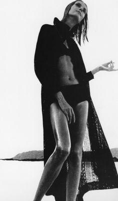 Nena Von Schlebrugge photographed by Lillian Bassman, 1964.