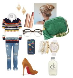 """""""Untitled #12"""" by rannegomez on Polyvore featuring 3x1, Yves Saint Laurent, Christian Louboutin, Mixit, Forever 21, Chanel, Rebecca Minkoff, Calvin Klein and Charlotte Tilbury"""