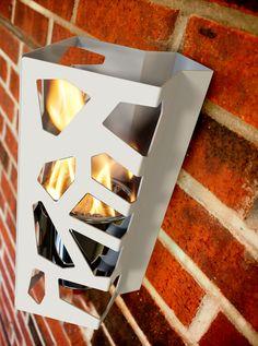 DecorPro D13218 Vibe Ethanol Wall Mounted Fireburner – The Fire Pits Store