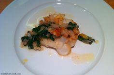 Seared #scallops with tarragon butter sauce, made during @Sur La Table ...