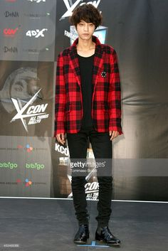Jung Joon Young attends the KCON 2014 held at the Los Angeles Memorial Sports Arena on August 10, 2014 in Los Angeles, California.