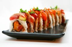 The Incredible Sushi roll from Mikuni Sushi at Tahoe's Northstar