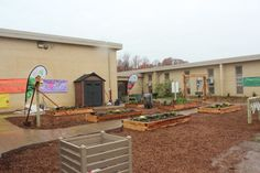 Learning gardens offer students and teachers a reason other than recess to go outside during the school day.