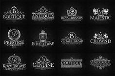 Heraldic Crest Logos Bundle - 2
