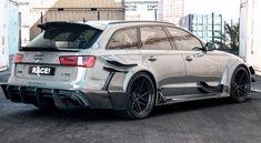 Audi RS6 Avant 2018 RACE
