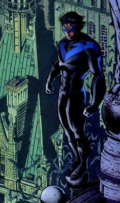 Dick Grayson - This pic makes me want to do the Tarzan yell. Just saying.