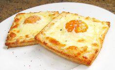 Tostadas de Huevo y Queso al Horno. Comienza el día con buen pie gracias a esta receta de COCINA PARA TODOS.