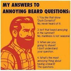 Respostas para irritantes perguntas sobre Barba