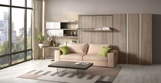 Resource Furniture is the largest source for modern, space saving furniture including the finest Murphy beds and wall beds, made in Italy by Clei.