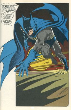 I started reading Batman during the Neal Adams run. Other than Bruce Timm's version in The Animated Series, this is the difinitive version.