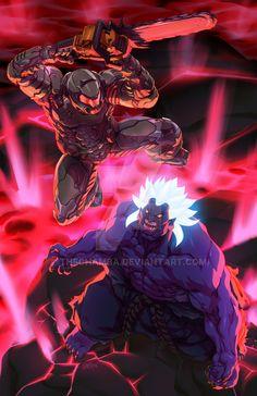 A full Colour commission taken during Anime Abu Dhabi for Stormourner of the VS -tools- & ONI SLAYER Doom 4, Doom Game, Akuma Street Fighter, Goblin, Doom Demons, Character Art, Character Design, Character Creation, Doom 2016