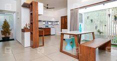 25-lakh-home-kannur-dine 4 Bedroom House Plans, My House Plans, House Floor Plans, Dream Home Design, Modern House Design, My Dream Home, Kerala Traditional House, Traditional House Plans, Kerala House Design
