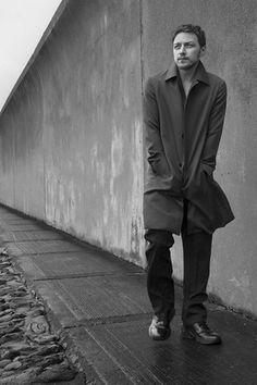 James McAvoy in Prada's men's fall 2014 campaign, shot in England by Annie Leibovitz. [Photo Courtesy of Prada]