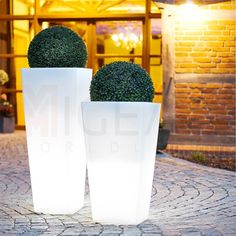 Dekorativa blomkruka lampa 1200mm / vit, plast - Golvlampor - Utomhusbelysning I Lampen & Leuchten online Kaufen I kostenloser Versand I Online-Shop MIGEAA