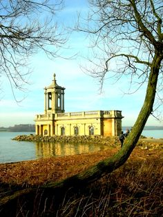 """Normanton Church"" by MIKE FREEMAN at Oakham. County of Rutland -PicturesofEngland.com"