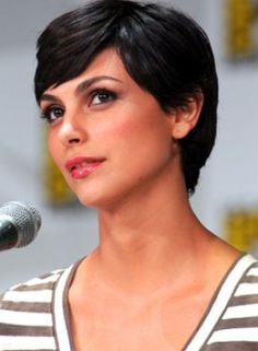 It's short, but not too buzzed. Cute, but not too young. Tough, but not manly. Morena Baccarin truly has the perfect pixie. This summer, tons of celeb trendsetters have freshly shorn locks, proving that a cropped cut can be chic and even sexy. If the heat has you seriously considering a major chop a la Morena, keep these tips in mind: