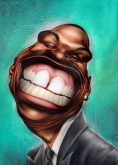 : Eddie Murphy - I'm like this artist. The first thing you notice about Eddie Murphy is his TEETH! Cartoon Faces, Funny Faces, Cartoon Art, Caricature Artist, Caricature Drawing, Funny Caricatures, Celebrity Caricatures, Eddie Murphy, Fanarts Anime