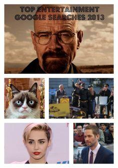 Google Zeitgeist Tracks 2013′s Top Entertainment Searches