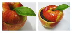 Mebloteka YELLOW / Piotrkowska 138/140. Nazwa deseru: Poisoned apple & Prince Kissing, czyli czarna kawa z mleczną pianką i grenadyną