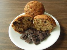 Chocolate Sourdough Muffins