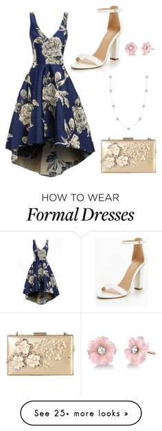 """""""Formal Florals"""" by ekh12 on Polyvore featuring Rimen & Co., Irene Neuwirth and Mikimoto"""