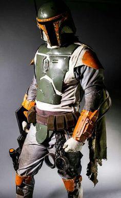 Boba Fett cosplay