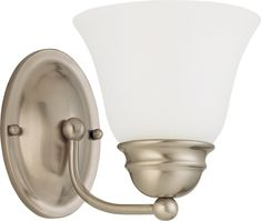 Nuvo Lighting 60-3317 Empire 1 Light GU24 CFL Vanity Wall Fixture