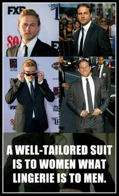I'd rather see Charlie without the suit honestly! ;)