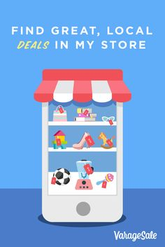 Find great, local deals in my VarageSale Store!