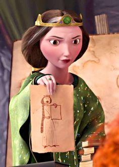 Brave 2012 Queen Elinor
