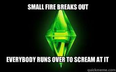Here's hoping the sims 3 team will one day debugify their freakin game! Sims 3, Play Sims 4, Nintendo 3ds, Wii U, Sims Costume, Sims Memes, Sims Humor, Sims 2 Games, Just A Game