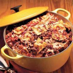 One-Pot Pasta Recipe | MyRecipes.com