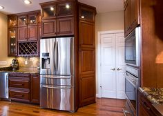 Marsh Kitchens Winston Salem Nc   Marsh Kitchens D21 300x214 Custom  Refrigeratoru2026