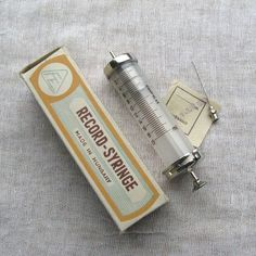 1963 Unused 20 ml Syringe, Vintage Medicine, Medical Oddities, Doctor Tools, Pharmacist Gift, Medical Art, Medical Theme, Healthcare
