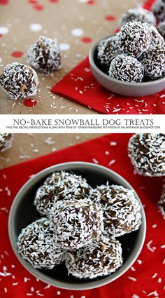 Instead of using white flour in your pet cookies or any other homemade pet dog food, you can utilize entire grains like quinoa, oats and wild rice instead. No Bake Dog Treats, Diy Dog Treats, Gourmet Dog Treats, Homemade Dog Treats, Dog Biscuit Recipes, Dog Treat Recipes, Dog Food Recipes, Biscuits, Homemade Truffles