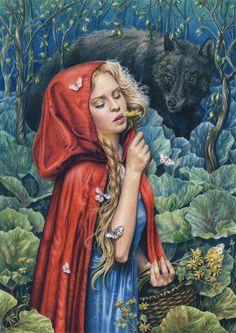 Red Riding Hood by MyDoodle.deviantart.com on @deviantART