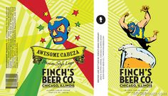 Finch's Beer Co - Awesome Cabeza Mexican Style Lager