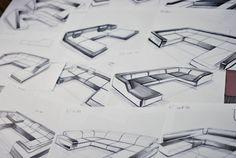 FURNITURE DESIGN - FREELANCE FOR IQLABELS 2013 by Marc TRAN, via Behance