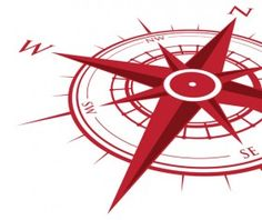Vector compass background design material 15