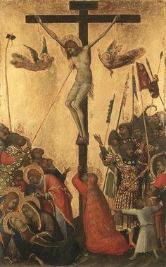SIMONE MARTINI (1285–1344) - Crucifixion.