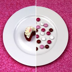 What 100 calories really looks like...