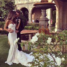 Beautiful sexy Inbal Dror wedding dress